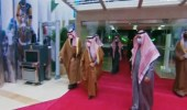 شاهد.. لحظة وصول ولي العهد إلىحفل سباق كأس السعودية في نسخته الثانية