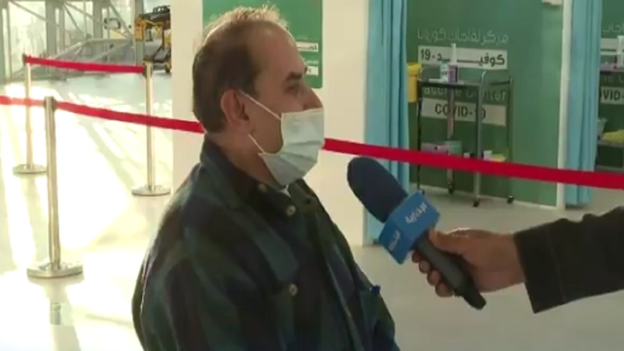 بالفيديو ..مقيم لبناني يحكي تجربته بعد تلقيه لقاح كورونا في حفر الباطن