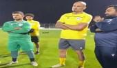 سبب ظهورمدافع النصر فيتدريباتالرفاع البحريني