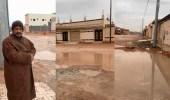 بالفيديو.. مواطن يناشد الجهات المعنية بحل مشكلة انتشار البرك والمستنقعات في حي إشبيلية بعرعر