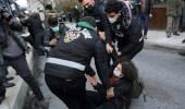شرطة النظام التركي تعتقل مئات المحتجين على تعيين أردوغان عميدًا جامعيًا