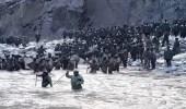 بالفيديو.. اشتباكات عنيفة بين القوات الصينية والهندية بدون أسلحة