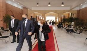 بالصور.. أول ظهور لسوزان مبارك بعد غياب طويل أثناء زيارة قبر مبارك