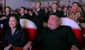 بالصور..أول ظهور لزوجة زعيم كوريا الشمالية بعد عام من الاختفاء الغامض