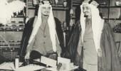 لقطات نادرة تجمع الملك فيصل والملك خالد