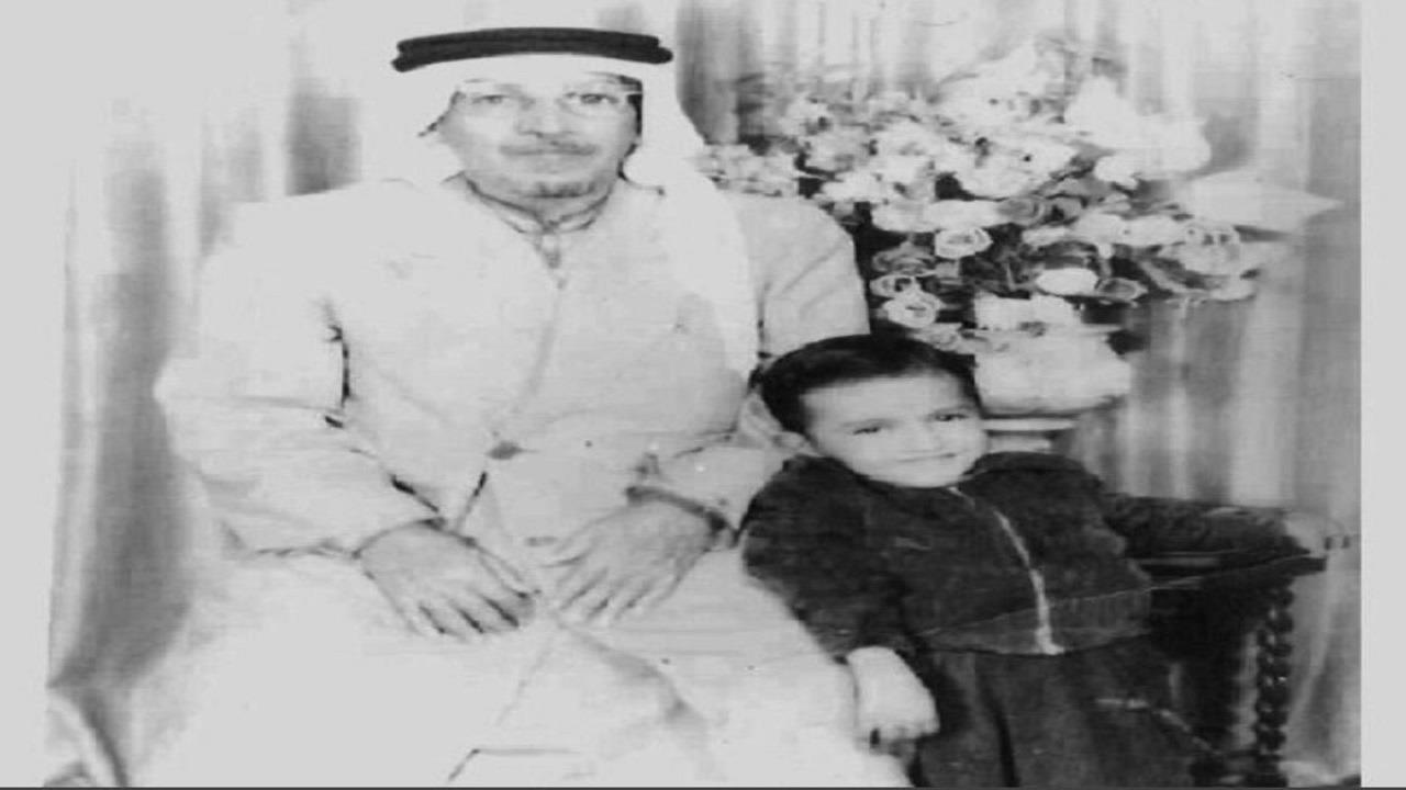 صورة نادرة للواء عبد الله بن سليمان العيسى أهم رجال الملك عبد العزيز