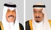 أمير الكويت يعزي خادم الحرمين بوفاة الأميرة نورة بنت فهد
