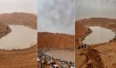 بالفيديو.. روضة الخرارة بالرياض تجذب المتنزهين بعد هطول الأمطار الغزيرة