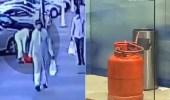 القبض على مواطن وضع اسطوانة غاز داخل غرفة صراف آلي تابعة لأحد البنوك بالرياض