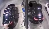 بالفيديو.. رد فعل غير متوقع من سيدة تجاه شاب حاول سرقة سيارتها