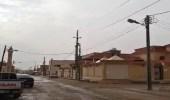 بالفيديو.. هطول أمطار على حفر الباطن