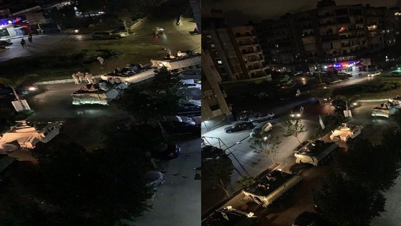 """بالفيديو..اشتباكات بالـ """" آر بي جي """" في لبنان بسبب دراجة نارية"""
