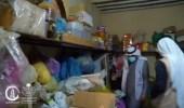 بالفيديو.. العثور على مستودع مواد غذائية مُخالف داخل سكن عمالة بسكاكا
