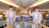 طيران الإمارات تشغل أول رحلة تخدمها فرق ملقحة بالكامل ضد كورونا