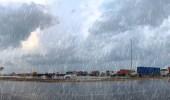 هطول أمطار غزيرة وسيول وتساقط للبرد على عدة مناطق