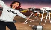 """بالفيديو والصور.. فتاة تدخل التاريخ بقيادتها مركبة """"ناسا"""" إلى المريخ"""