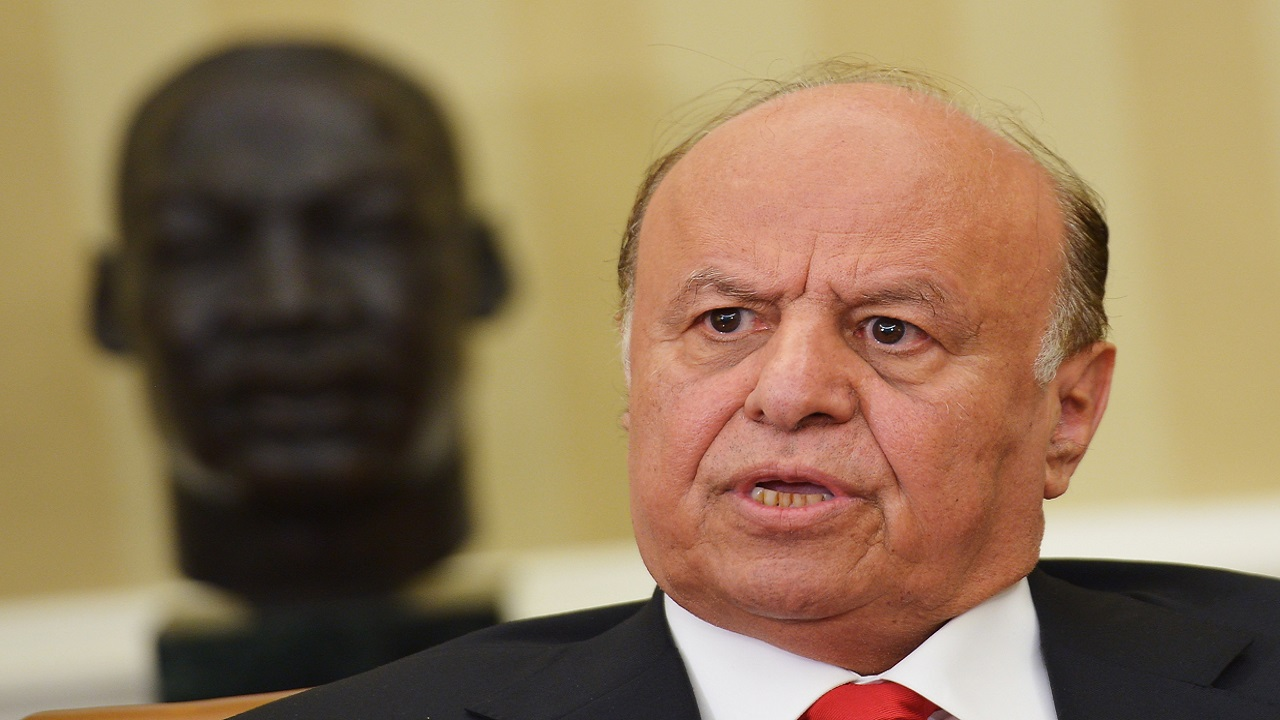 الرئيس اليمني: إيران وميليشيا الحوثي الإرهابية غير جادين في السلام