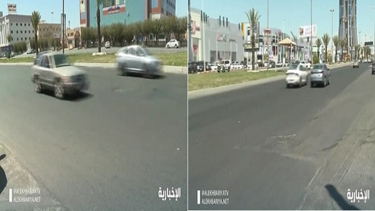 فيديو يكشف الأوضاع من داخل خميس مشيط بعد الإستهداف الحوثي