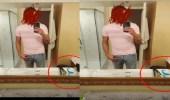 امرأة تكتشف خيانة زوجها من خلال صورة في مرآة