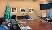 المعلمي يلتقي نائبة المدير التنفيذي لهيئة الأمم المتحدة للمرأة
