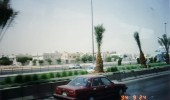 صورة قديمة لطريق الملك فهد بمدينة الرياض قبل 27 عام