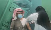 بالفيديو.. أول مواطن يتلقى الجرعة الأولى من لقاح كورونا بحفر الباطن