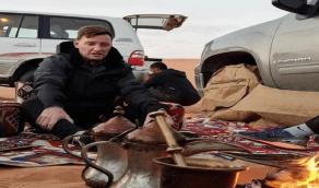 شاهد.. مدرب النصر يستمتع بنزهة برية مع اللاعبين في الثمامة