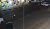 بالفيديو.. لحظة دهس شخص أسفل عجلات سيارة في تبوك