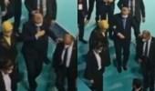 شاهد.. أردوغان يجد صعوبة في المشي ويتكئ على زوجته