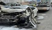 حادث مروري في مكة يسفر عن 6 إصابات