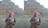 """بالفيديو.. مواطن يطلق سراح """"شيهانة جبلية"""" بعد تسجيل ملكيتها"""