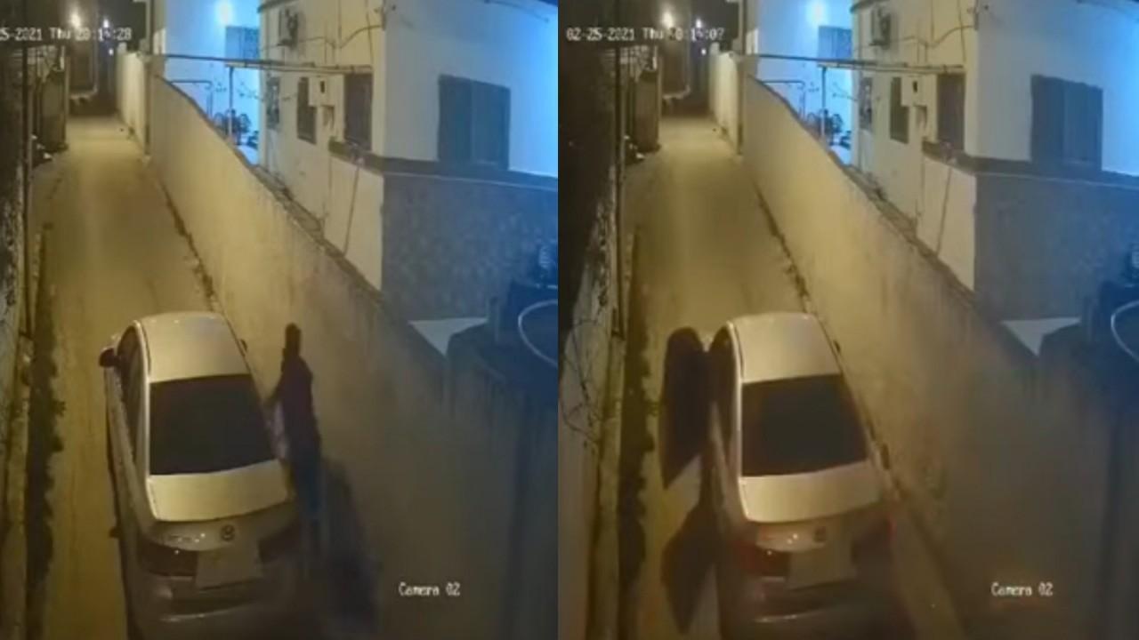 بالفيديو.. لحظة محاولة اختطاف فتاة بالقوة ووضعها في سيارة