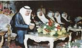 صورة نادرة للملك فهد أثناء افتتاحه مركز تلفزيون المدينة المنورة