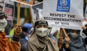 مظاهرات في سريلانكا ضد حرق جثامين ضحايا كورونا