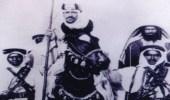 صورة تاريخية للملك سعود أثناء مشاركته في توحيد البلاد