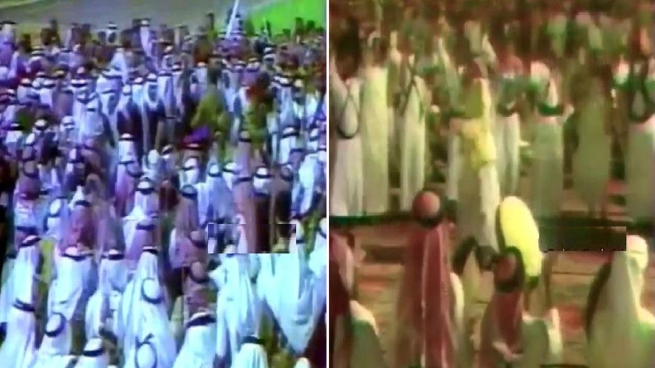 فيديو نادر لاحتفالات الرياض بالملك فهد
