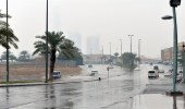 تنبيه من استمرار هطول الأمطار على مدينة الرياض