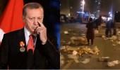 الأتراك يجمعون الطعام من القمامة..وأردوغان: سنصل إلى القمر