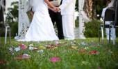 بالصور .. 4 توأم يدخلون قفص الزوجية في بيت واحد