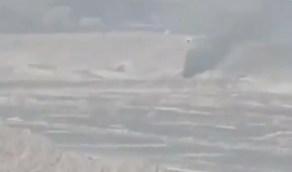 شاهد.. لحظةاستهداف طائرات التحالف عربات عسكرية تابعة للحوثيين في مأرب