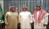 """سر اجتماع """" آل الشيخ """" مع خالد البلطان وابنه """"الوليد"""""""