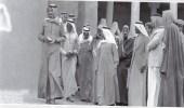 صورة نادرة لخادم الحرمين فيحي الطريف التاريخي بالدرعية