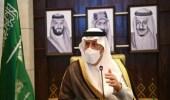 شاهد.. لحظةافتتاح أمير الرياض جسر تقاطع طريقي عرفات والعزيزية