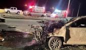 حادث إنقلاب نتج عنه ثلاث وفيات وحالتين خطيرة بمحافظة القرى