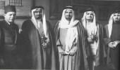 صورة نادرة للملك عبدالعزيز أثناء زيارته لمصر قبل 75 عاما