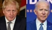 جونسون وبايدن يتفقان: لابد أن تعود إيران للالتزام بالاتفاق النووي