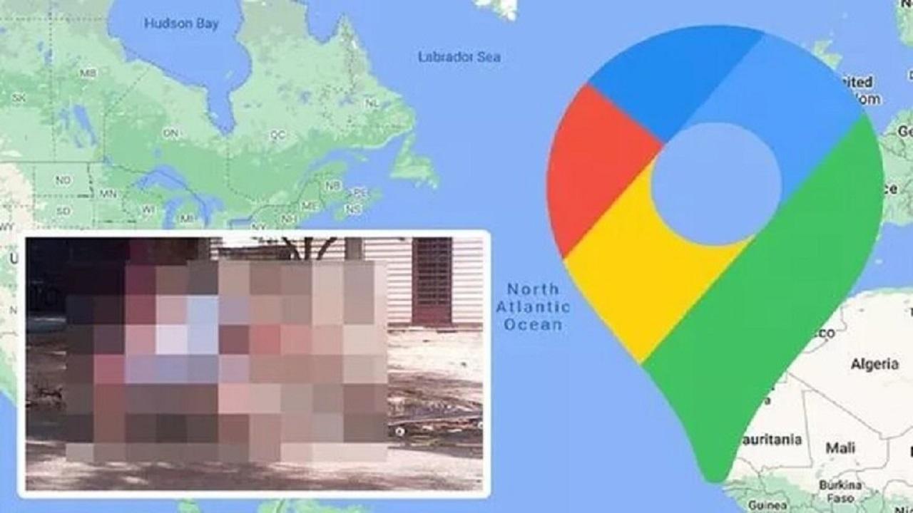 جوجل يلتقط بالصدفة فتاة تتعثر بشكل محرج