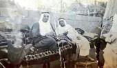 صورة نادرة للملك فهد أثناء زيارته صبياء