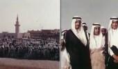 صورة نادرة للملك سلمان أثناء استقباله زعماء مصر والأردن في مطار الرياض