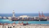 إيقاف حركة الملاحة البحرية بميناء جدة بسبب زيادة سرعة الرياح